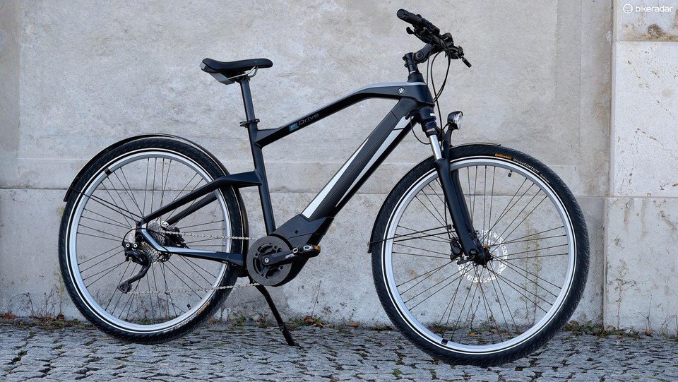 BMW Active Hybrid e-bike — first ride impressions, spec - BikeRadar