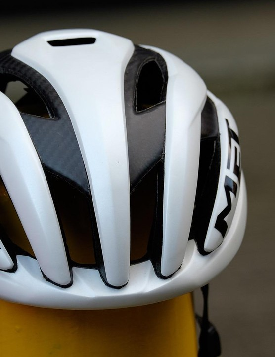 The MET Trenta 3K Carbon helmet