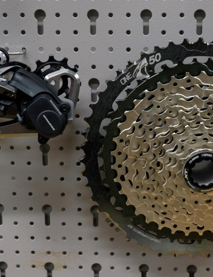 Don't fancy jumping ship from Shimano to 12spd SRAM? OneUp's Shark upgrade kit has got your back