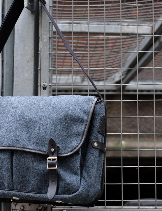 Brompton's latest Game Bag comes in Harris Tweed