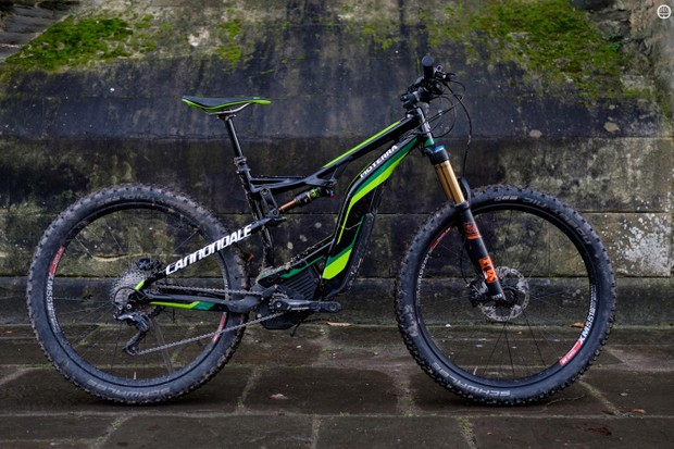 The Moterra is one of an increasing number of electric mountain bikes we are seeing from big brands this year