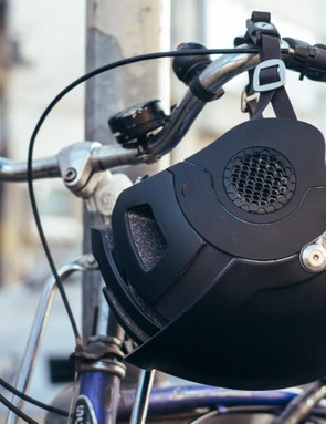 The Anverz offers increased protection over a regular bicycle helmet yet does without the excess bulk of a motorcycle lid