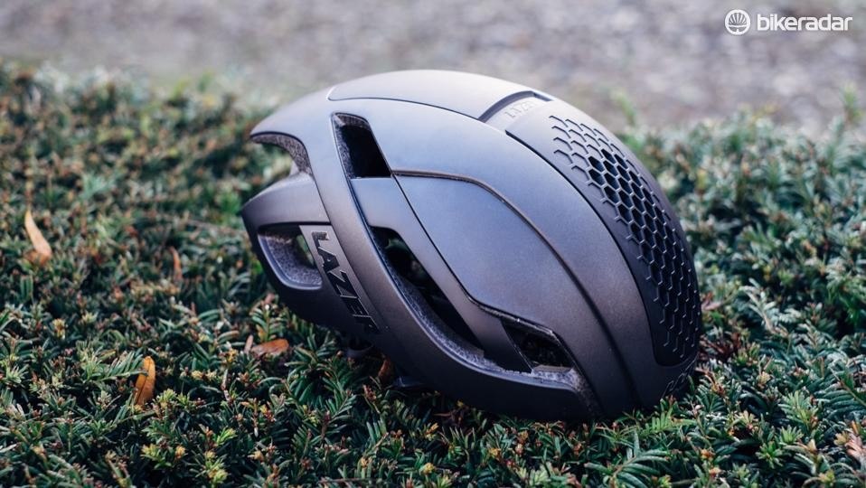 The bullet is a step in another direction from Lazer's flagship Z1 road lid, which is sold with a snap-on aeroshell