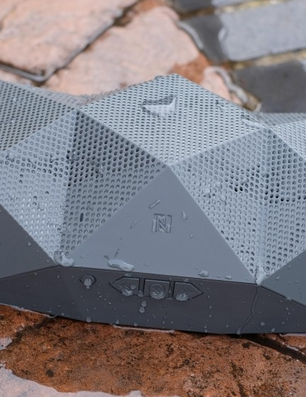 Outdoor Tech's Big Turtle Shell wireless speaker shrugs off the elements