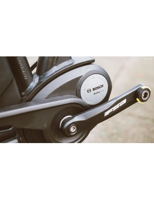 Bosch Active line motor will provide assistance up to 25km/h, or more for regions that allow it