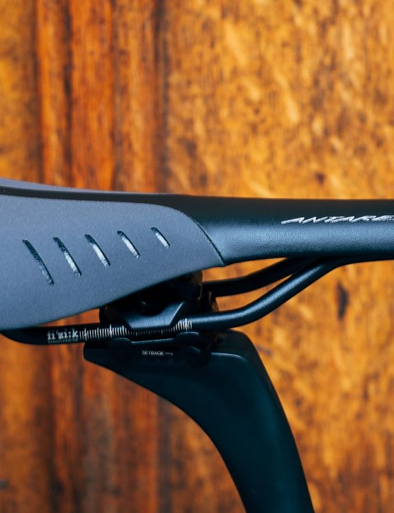 No complaints regarding the Fizik Antares R5 saddle