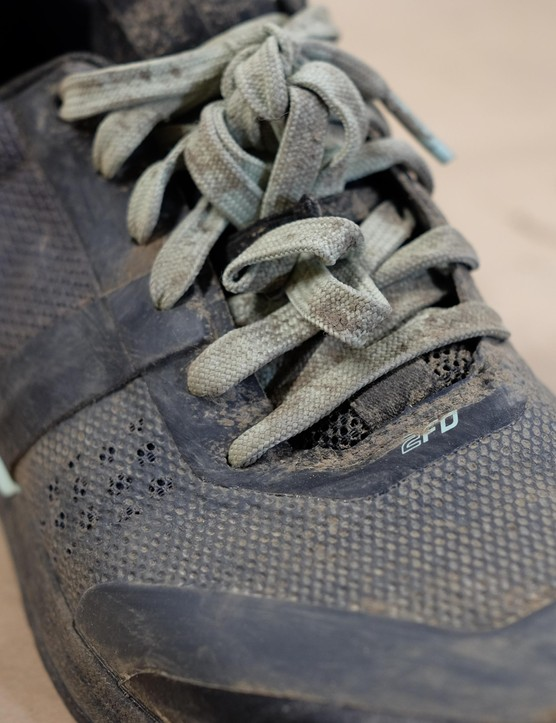 Specialized calls the little elastic loop that keeps the laces out of the way the 'Lacelock'