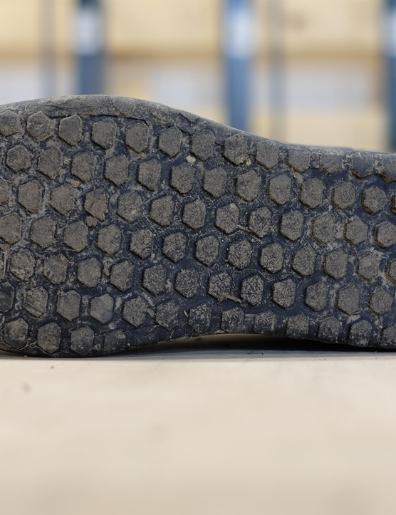 The sole is much tackier, with a new version of Specialized's proprietry SlipNot rubber