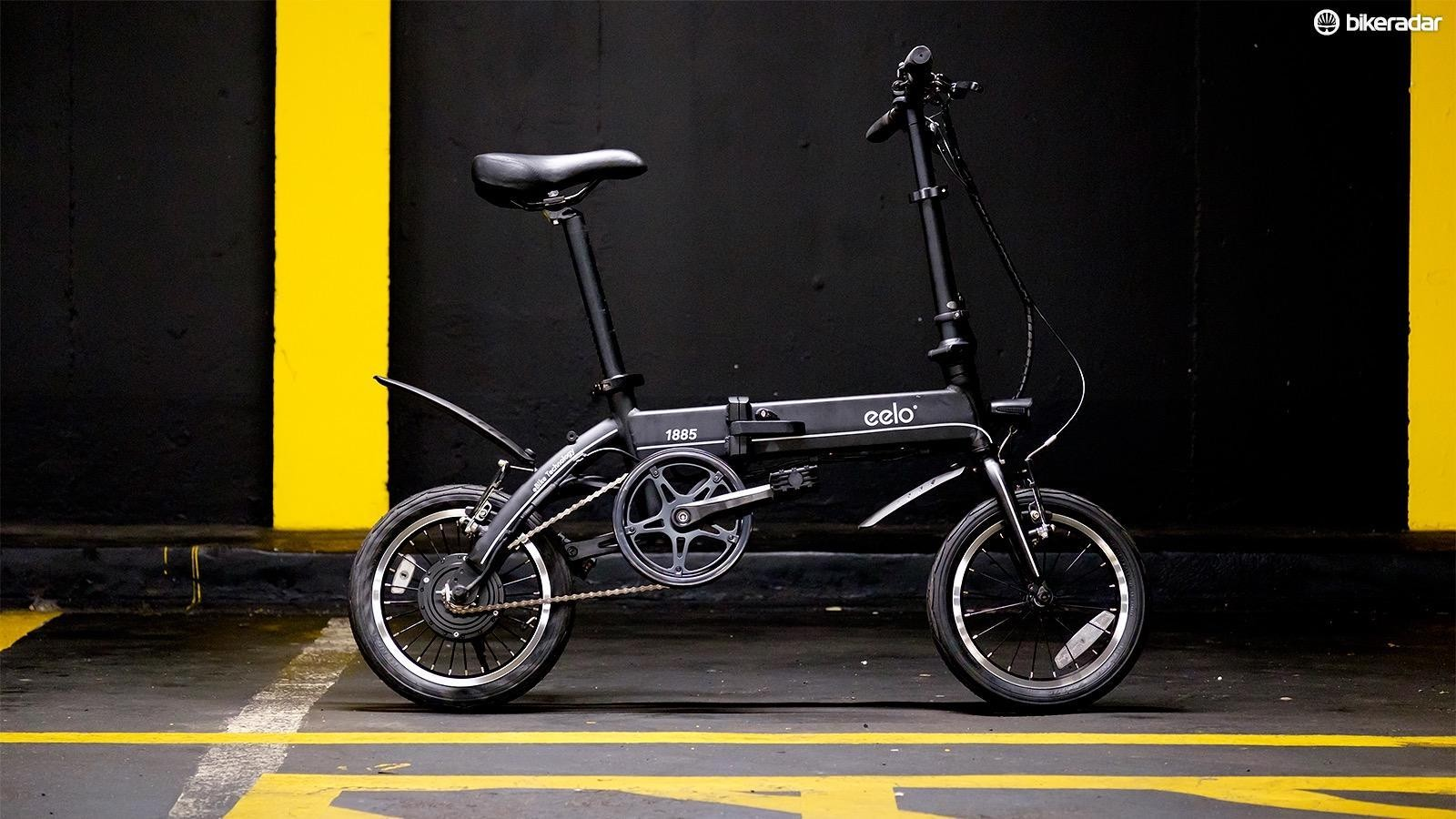 The Eelo 1885 is a folding electric bike that doesn't cost the earth