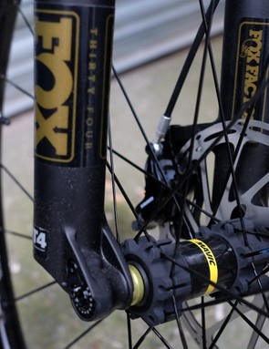 Mavic's aluminium XA Elite wheelset
