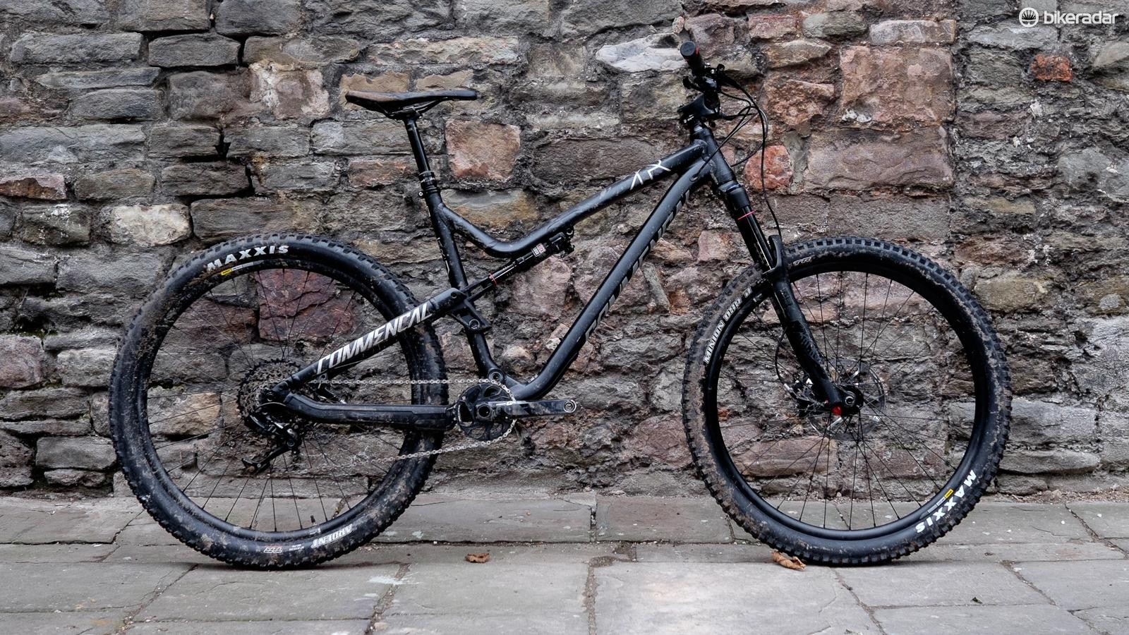 Commencal's Meta Trail gets a suspension extension for 2017 and now boasts 140mm/130mm of travel