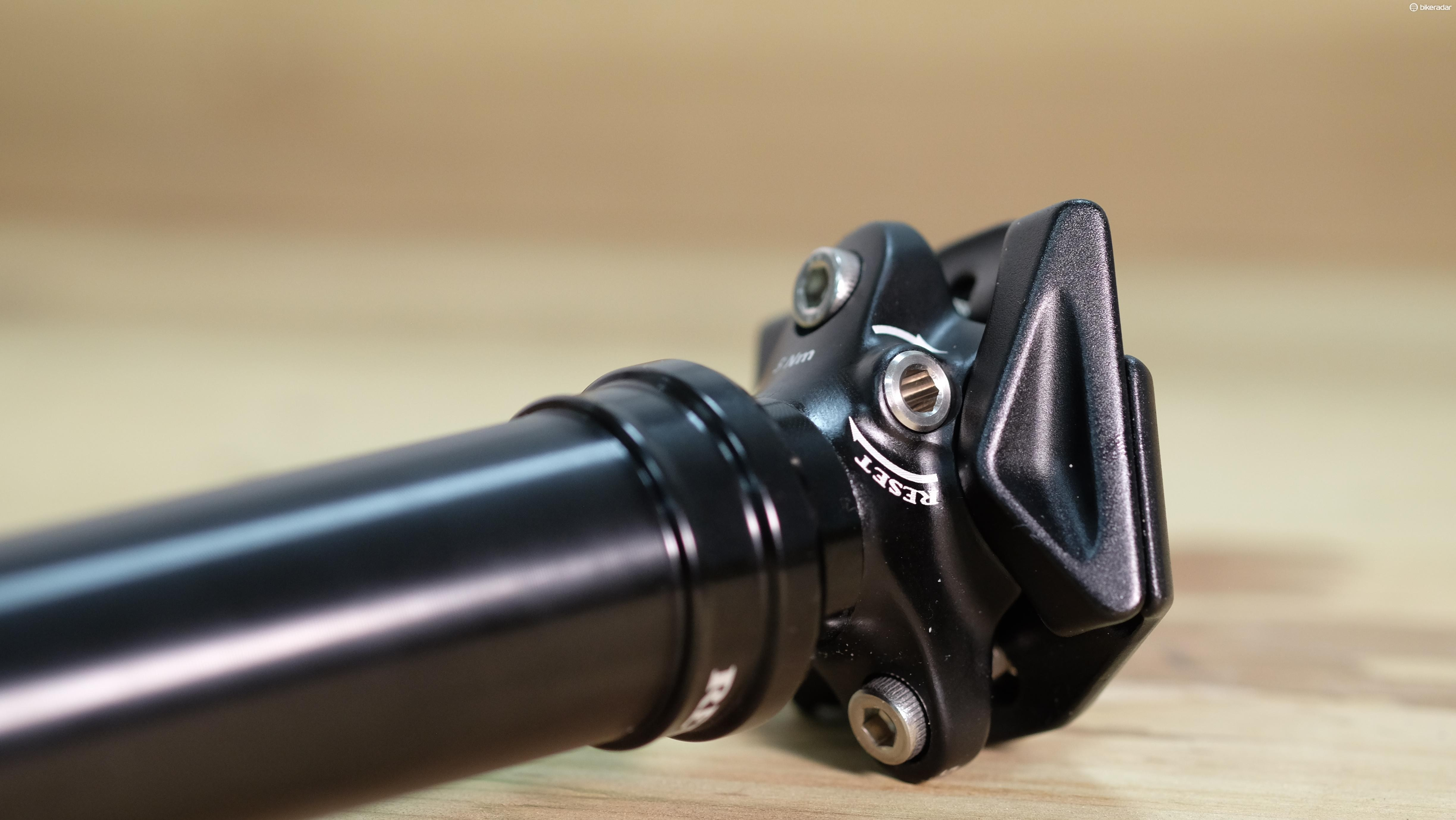 Design refinements have seen the Revive's bleed valve go from a button to a bolt