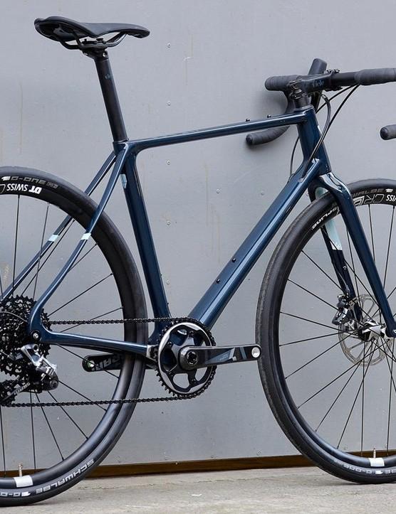 Dark blue looks good too, eh?