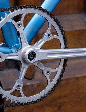 The bike is built around a 1x drivetrain, proving there are literally no new ideas in the bike industry