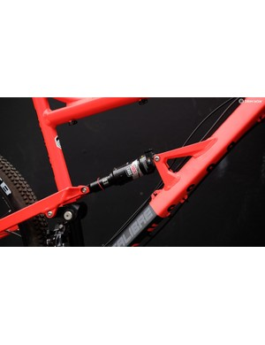 The linkage-activated single pivot suspension design has been carried forward from the original bike but now boasts extra stiffness thanks to a revised rocker link