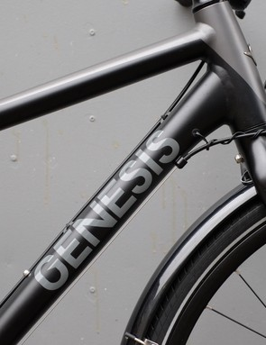 The frame decals are reflective, adding useful visibility for commuters