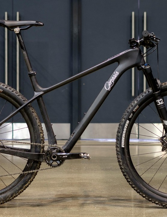 This new carbon 29er looks decidedly racy