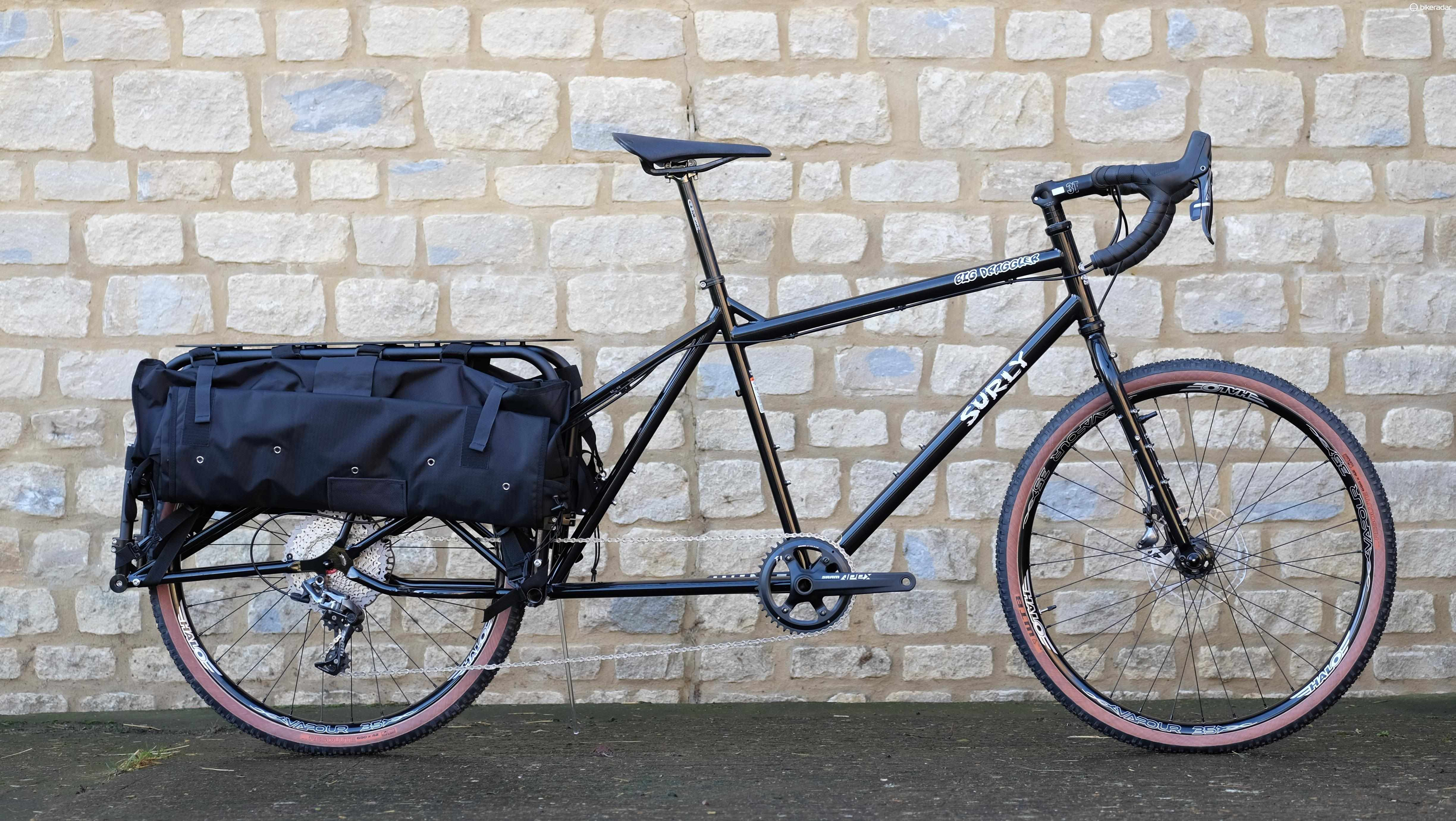 Surly's Big Draggler is a long-wheelbase hauler for those who might want to get their head down