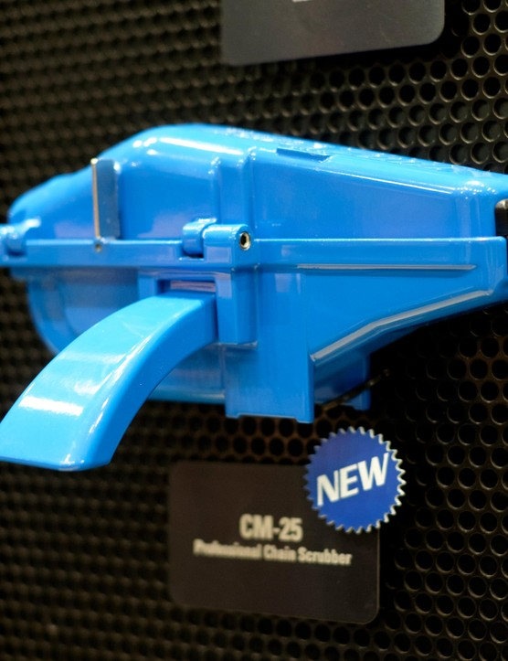 Park Tool's CM-25 chain cleaning tool is a more robust alternative to the company's popular plastic chain cleaner