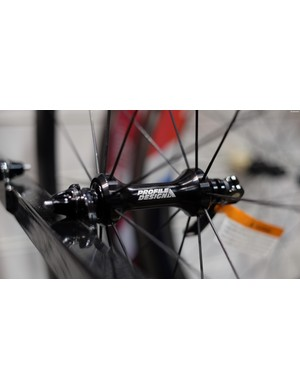 New hubs for the Profile Designs 1/Fifty wheels