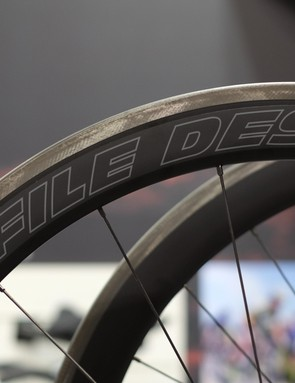 Profile Designs had its new wheelset on display
