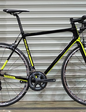 The Ridley Helium X was on display at IceBike 2017