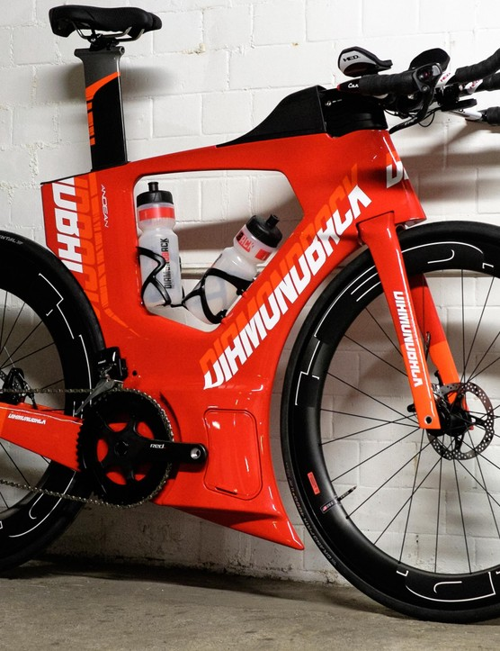 The Andean was designed to be the fastest tri bike out there and that's something Diamondback is confident it has achieved