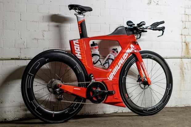 Kind of like a flattened Ducati?