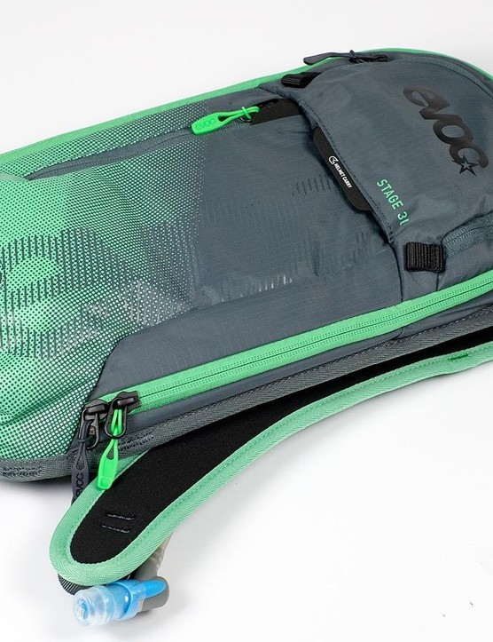The Stage bag from EVOC is compact and designed to take just the essentials