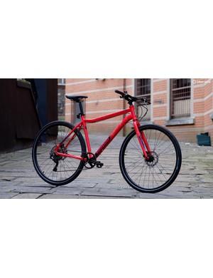 Voodoo's Agwe is a lot closer to a mountain bike than a road bike