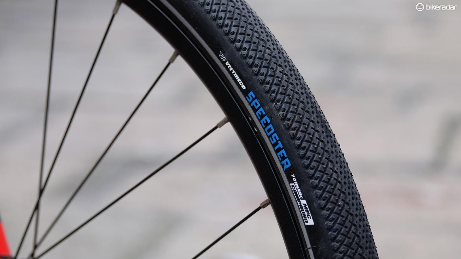 The tyres roll fast and add comfort