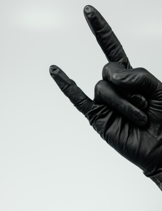 Black Mamba's Industrial Strength Workshop Gloves are three times the thickness of normal disposable gloves