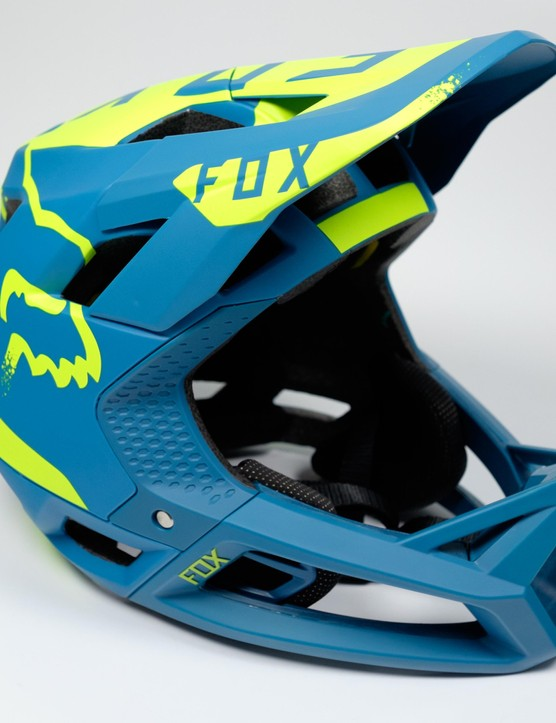 The Proframe is Fox's first all-mountain focused full-face helmet