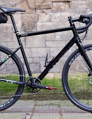 Fitting mudguards or a rear rack shouldn't be a problem and the front triangle will accept two water bottles
