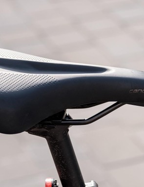 Specialized's own Canopy saddle proved to be comfortable