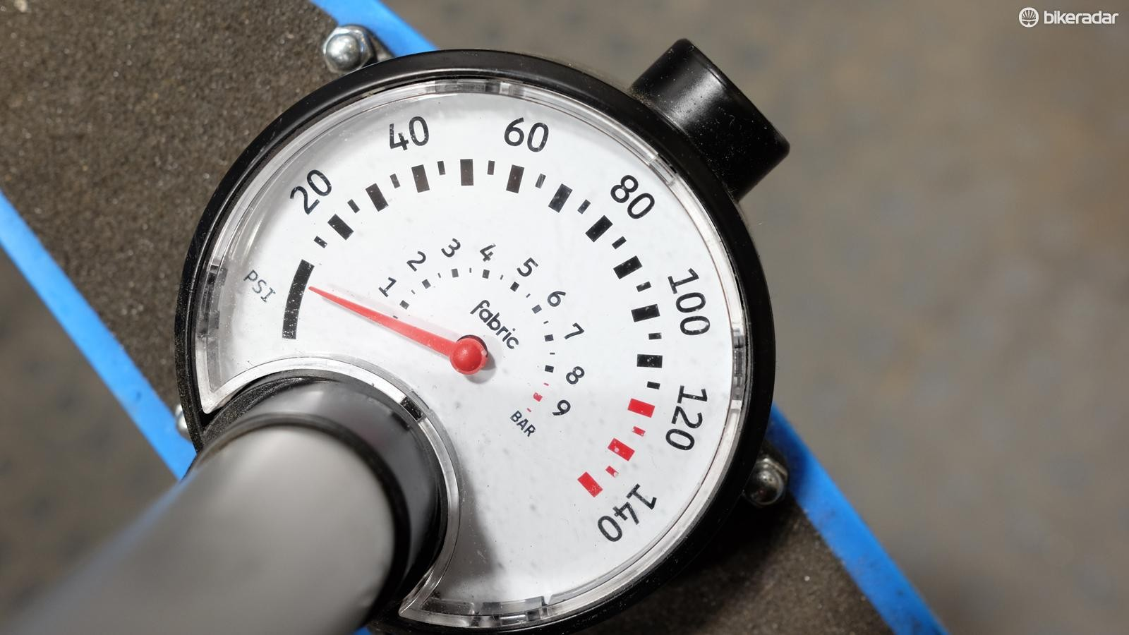 Inflating your tyres to the correct pressure is an essential part of bike maintenance