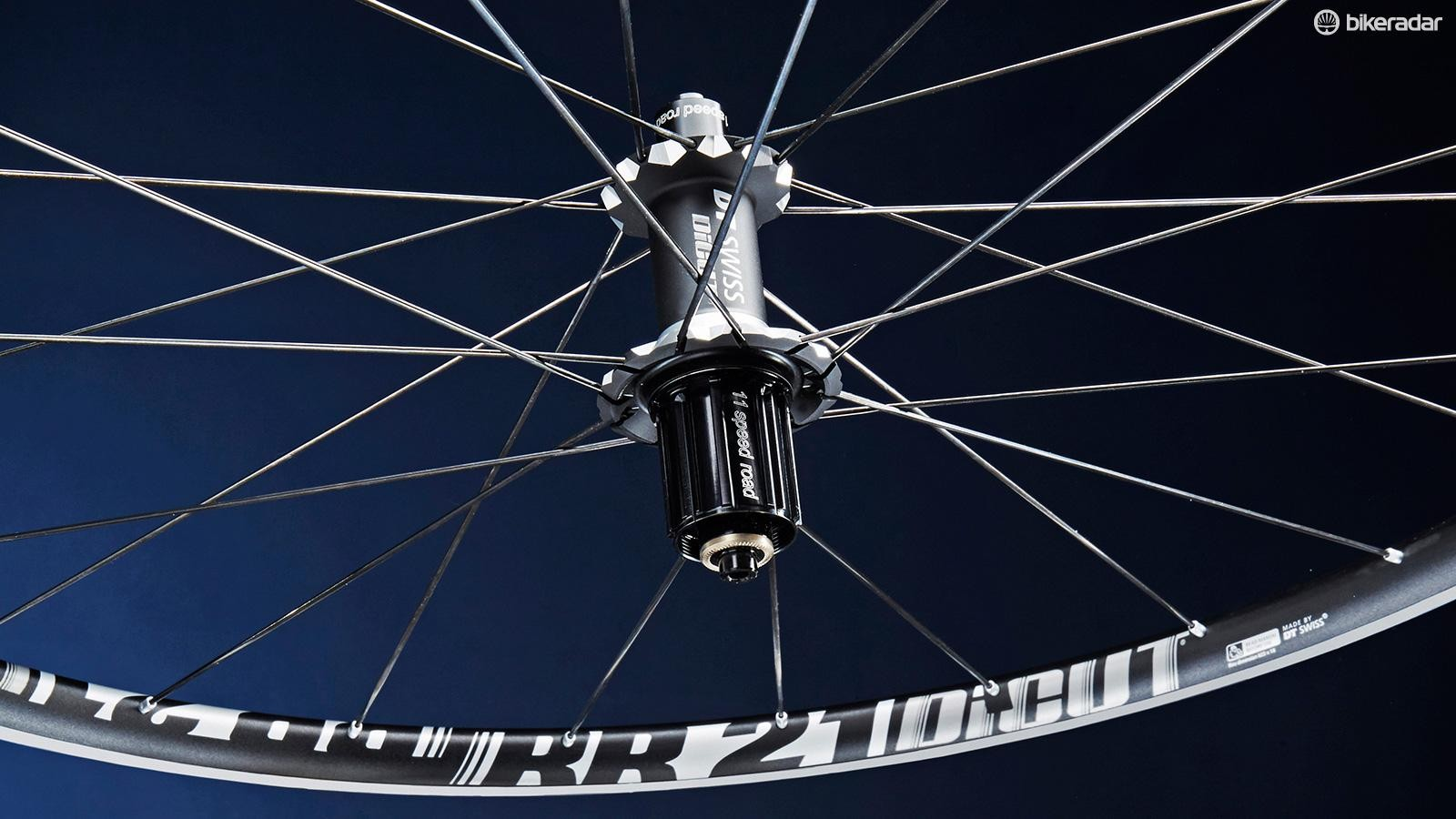 DT Swiss' RR 21s are a fine set of hoops
