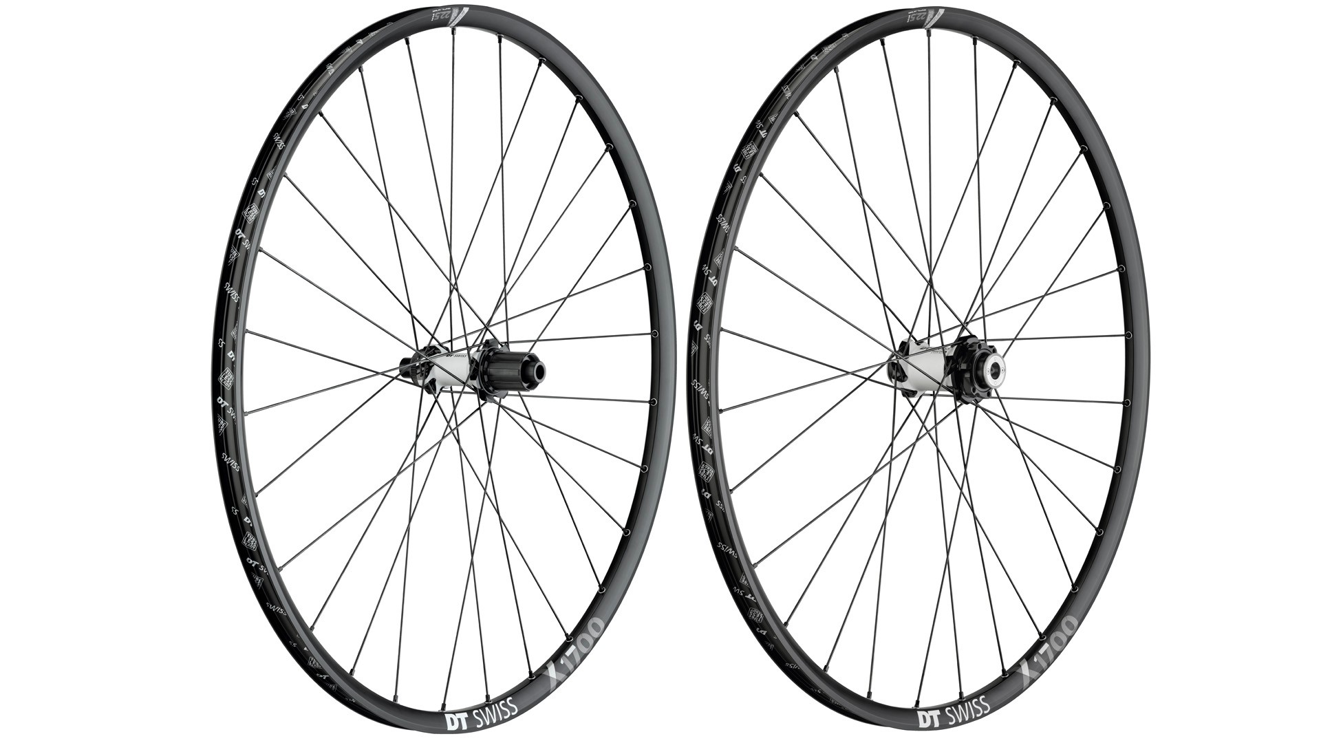 X 1700 cross-country wheels with 25mm rims