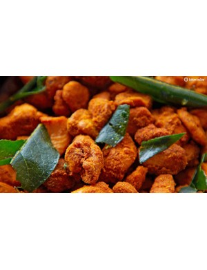 Sick of sweet energy products? How about a spicy nut energy kick?