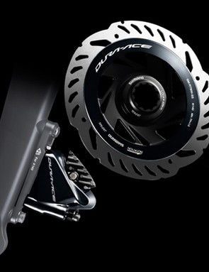 Shimano Dura-Ace BR-R9170 caliper and SM-RT900 disc rotor