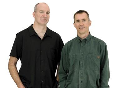 Dwan Shepard (l) and Dan Vrijmoet, owners.