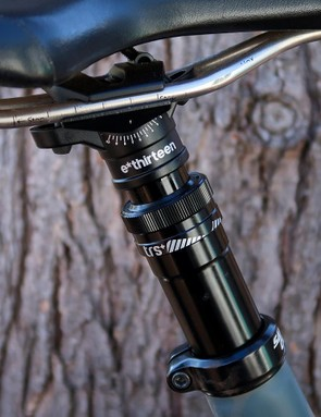 The e*thirteen TRS+ dropper seatpost is affordable, user-serviceable and has proven to be reliable