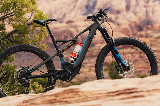 Specialized's Turbo Levo FSR 6Fattie Comp is the more affordable of the company's new full suspension e-mountain bikes
