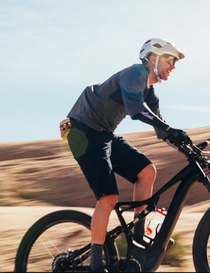 Riding the Turbo Levo is like hitting fast forward to get to the more enjoyable sections of trail
