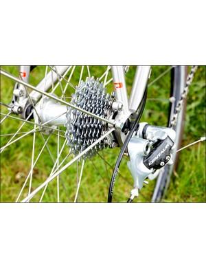 Campagnolo Centaur gears procide a sensible range