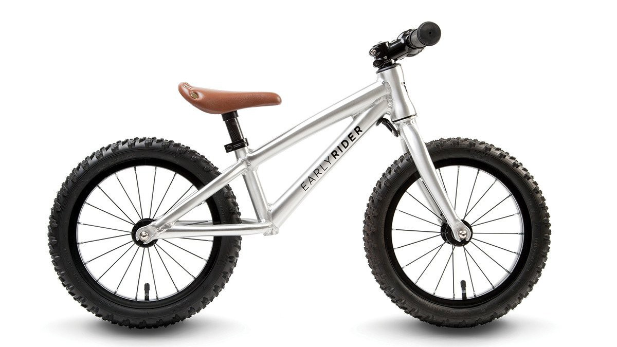 A balance bike that's rugged enough to take on mountain-bike trails