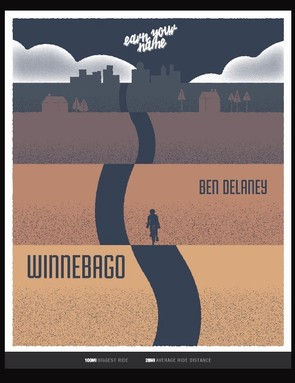 And, you get a digital poster to immortalize your Strava nickname legacy