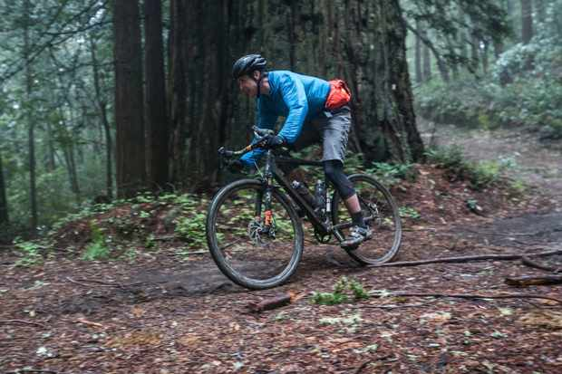 Big Basin State Park was littered with downed trees and branches, making for plenty of tricky terrain