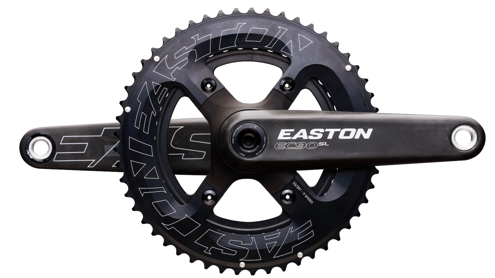 The new Easton EC90SL CINCH spindle-based power meter offers plenty of chainring, arm length and spindle options