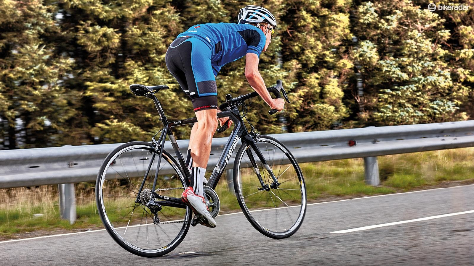 The R1 has to be one of this year's best value carbon road bikes with electronic shifting
